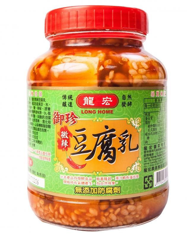 微辣豆腐乳 1