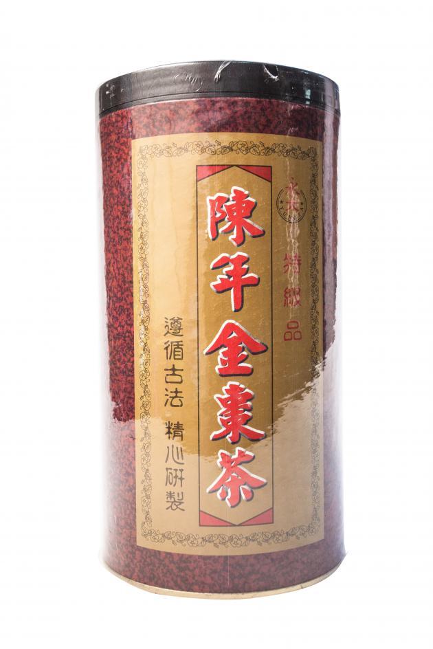 陳年金棗茶(罐) 1